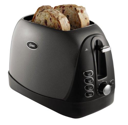 Oster 2-Slice Toaster Metallic Grey TSSTTRJBG1