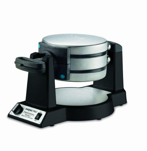 Waring Pro Wwm1200sa Double Belgian-waffle Maker, Black