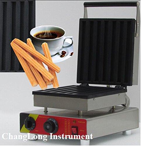 Changlong Instrument® Np-514 Rectangle Churros Waffle Maker Machine Electric Churro Machine Iron Waffle Maker