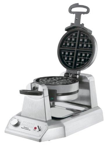 Waring Commercial Ww200 Heavy-duty Double Vertical Belgian Waffle Maker