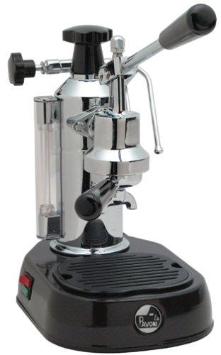 La Pavoni EPBB-8 Europiccola 8-Cup Lever Style Espresso Machine Black Base