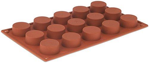 Pavoni Orange Non-Stick - 15 Cylinders