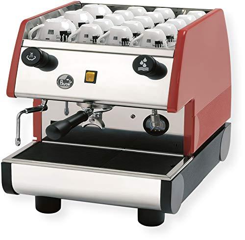 la Pavoni PUB 1M-R 1 Group Commercial EspressoCappuccino Machine 22 x 15 x 21 Red