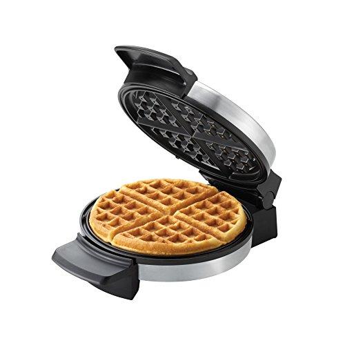 Black+decker Wmb500 Belgian Waffle Maker, Stainless Steel