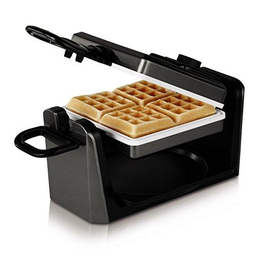 Oster Ckstwf11wc-eco Duraceramic Belgian Flip Waffle Maker, Black