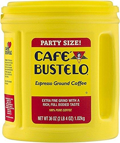 Cafe Bustelo Espresso Ground Coffee Party Size 36oz