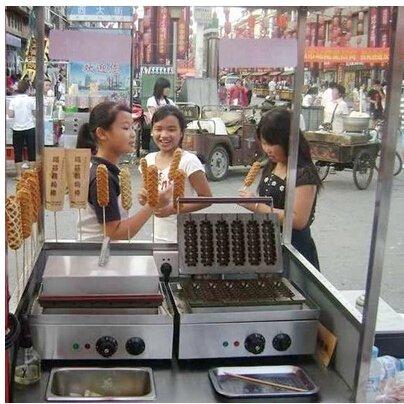 Hot Sale 110V220V Commercial Use Electric Corn Dog Maker Machine Hot dog machine