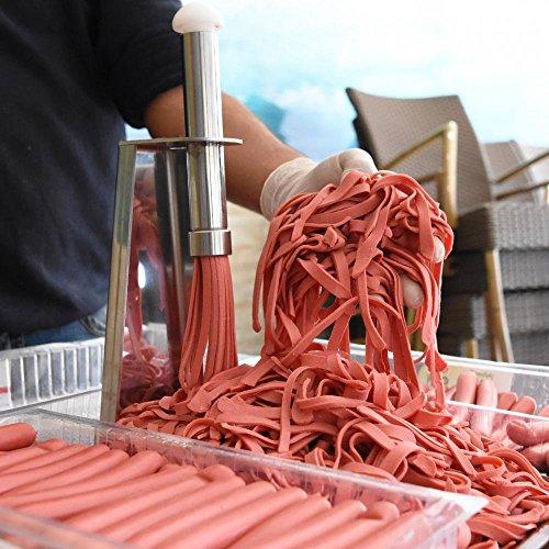 Commercial Kitchen Equipment Wiener Cheese Sausage Hot Dog Julienne Cutter Slicer Machine
