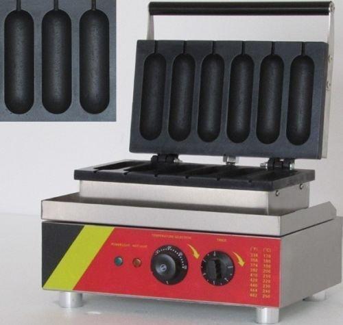 NP530 Commercial Hot Dog Machine Lolly Waffle Machine Hot Dog Waffle Baker 220V