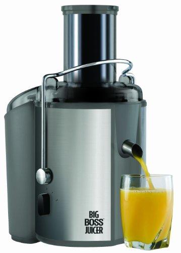 Big Boss 700-Watt Juicer 18000 RPM Wide Mouth Vegetable Juice Extractor- Stainless Steel