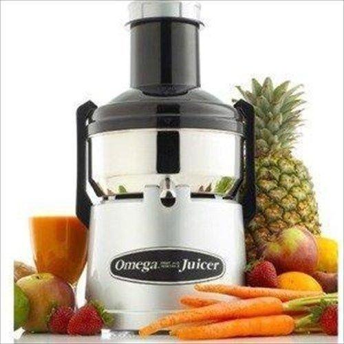 Electric Vegetable Juicers Omega Bmj330 Mega Big Mouth Juicer - Juice Extractor Machine - Stainless Bmj 330 Electric Juices