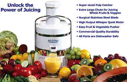 Tristar Jack LaLanne Power Juicer Machine Kitchen