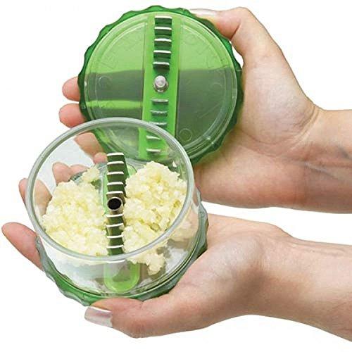 Garlic Chopper E-Zee-Dice perfectly chop garlic in seconds