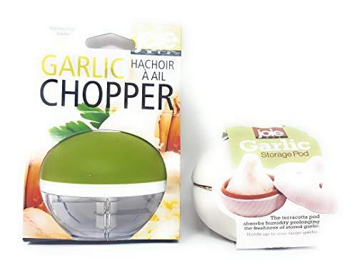 Joie Garlic Tools 1 Garlic Chopper and 1 Garlic Fresh Pod