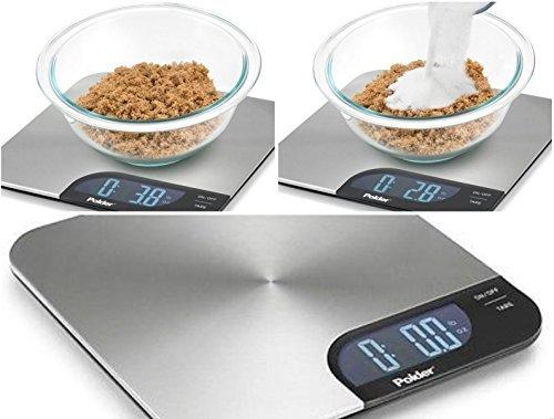 Polder Stainless Steel Dgital Kitchen Scale
