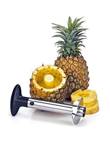 HOAEY Stainless Steel Pineapple Corer Slicer Peeler Cutter - Kitchen Tool Accessories