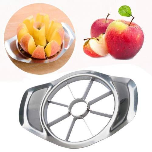 Rambling Fruit Slicer New Stainless Steel Fruit Apple Pear Easy Cut Slicer Cutter Divider Peeler Corer Slicer
