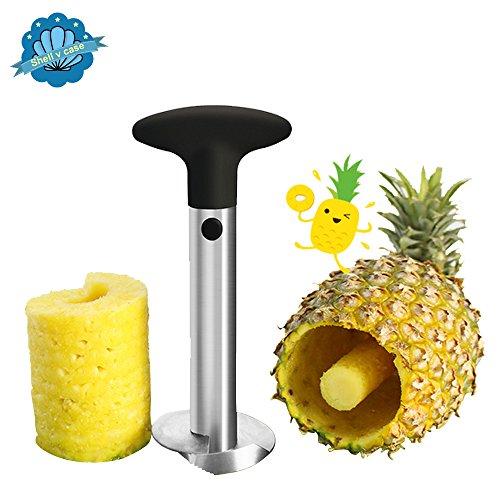 Shellvcase Stainless Steel Pineapple Easy Slicer Corer For Restaurant and Kitchen