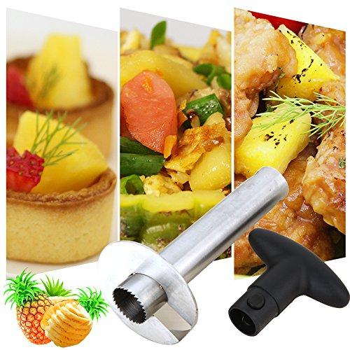 iMeshbean Hot Sale Fruit Pineapple Corer Slicers Pineapple Peeler Easy SlicerPeeling Knife Cutter Kitchen Easy Tools