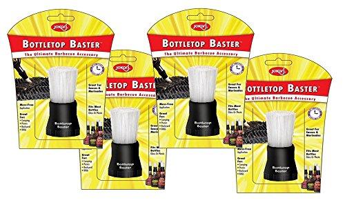 JOKARI Bottle top Baster Brush - BBQ - 4 Set 2 Free Gifts