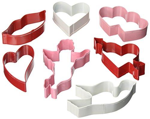 R M Valentine 7 Piece Cookie Cutter Set