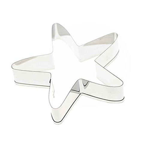 Flypv Starfish Shape Biscuit Mold Stainless Cutter Cake Cupcake Baking Tool