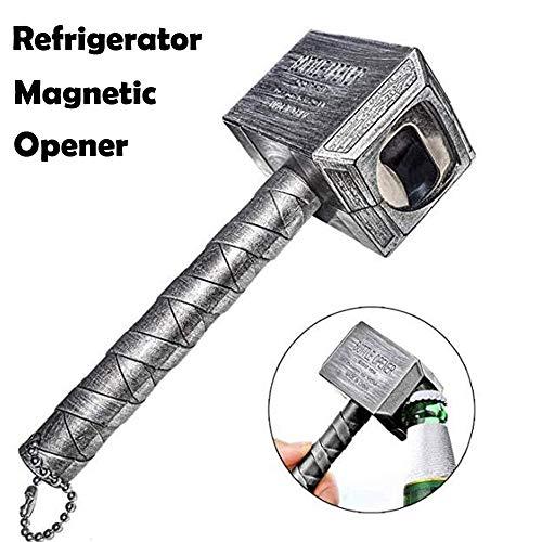 Magnetic Bottle Opener Thor Bottle Opener Thor Hammer Bottle Beer Opener Iron Refrigerator Magnetic Thor of Hammer Opener
