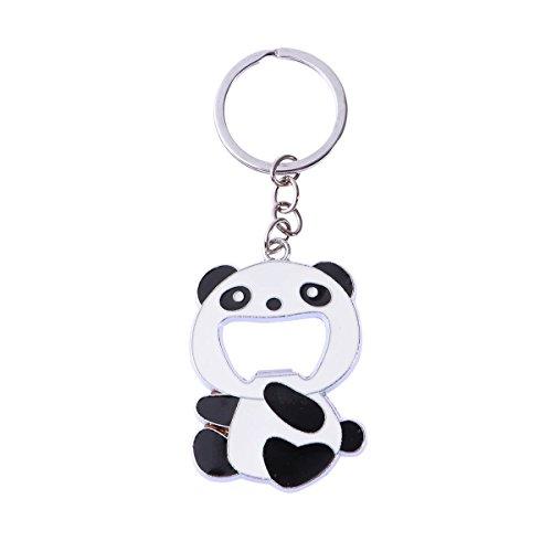 TOYMYTOY 24Inch Panda Bottle Opener Keychains Cute Chinese Panda Beer Soda Wine Bottle Opener