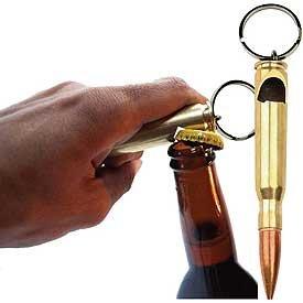 50 Cal Bottle Opener Keyring