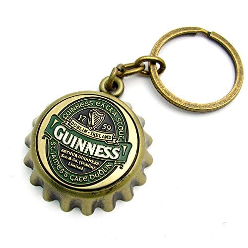 Guinness Ireland Bottle Cap Opener Keyring