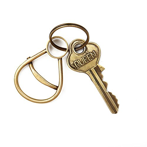 Handmade Beer opener keychain Bottle opener keychain Brass beer opener Key chains