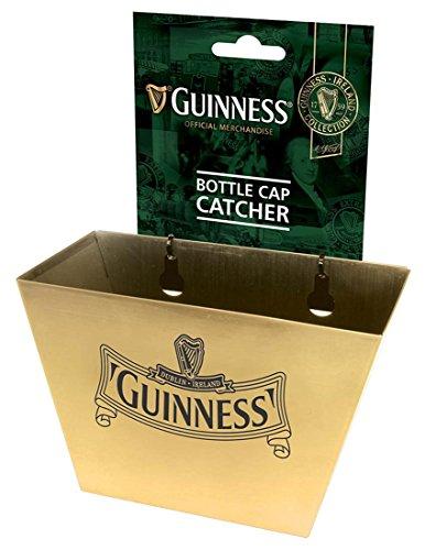 Gold Guinness Ireland Collection Bottle Cap Catcher With Harp Design Logo