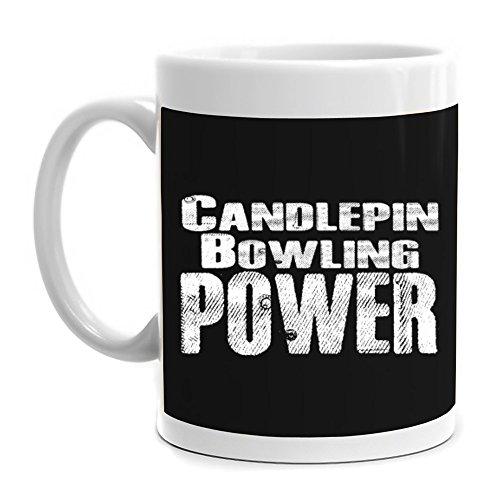 Eddany Candlepin Bowling power Mug