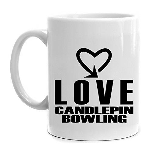 Eddany Love Candlepin Bowling cool style Mug
