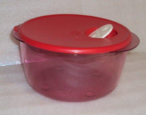 Tupperware Rock N Serve 8 12 Cup Microwave Bowl Red