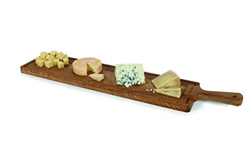 Boska Holland European Oak Wood Cheese Board Rectangle Paddle Board 28 x 6 Life Collection