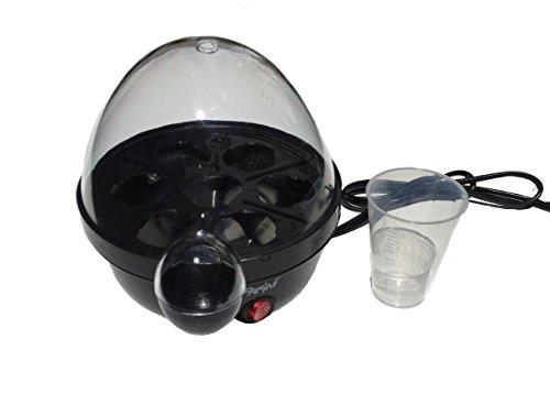Parini Appliances Electric Egg Cooker-Black