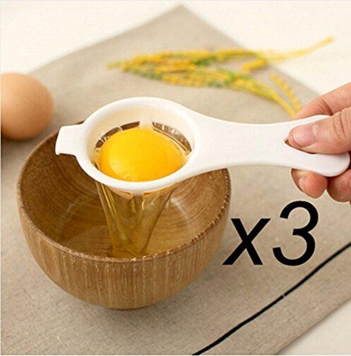 HS 1set Plastic Egg Yolk White Separator Egg Divider