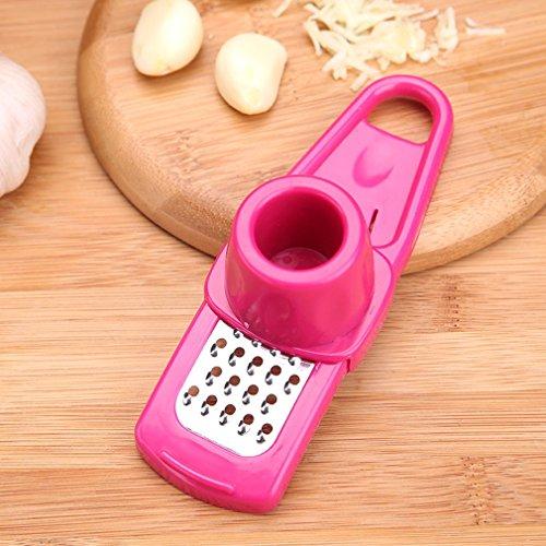 Meleg Otthon Multifunction garlic presser Grinding Grater Planer Slicer Cutter Cooking Tool Kitchen Utensils Kitchen Accessories red ¡