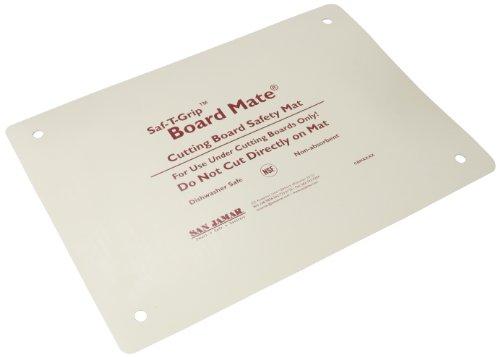 San Jamar CBM1318 Saf-T-Grip Board-Mate Nonslip Cutting Board Mat 18 Width x 13 Height