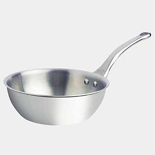 DeBuyer Affinity 317-Quart Rounded Saute-pan Stainless Steel