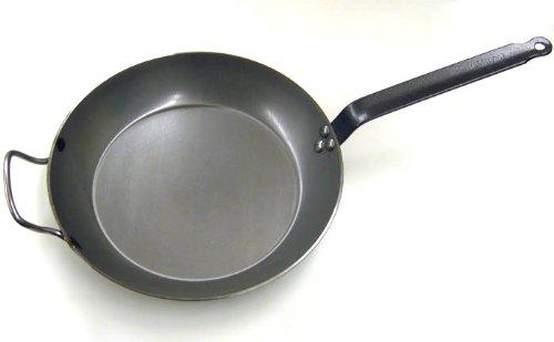 DeBuyer Carbon Steel Frying Pan 14-18 Diameter