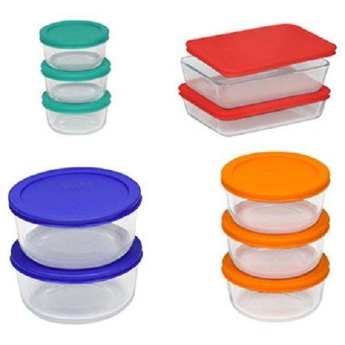 Pyrex Glass Storage Set - 20 Pc