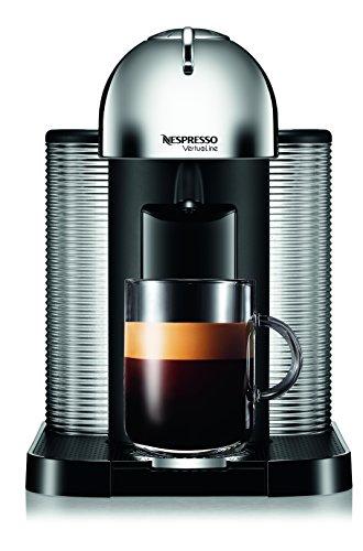 Nespresso A+gca1-us-ch-ne Vertuoline Coffee And Espresso Maker With Aeroccino Plus Milk Frother, Chrome