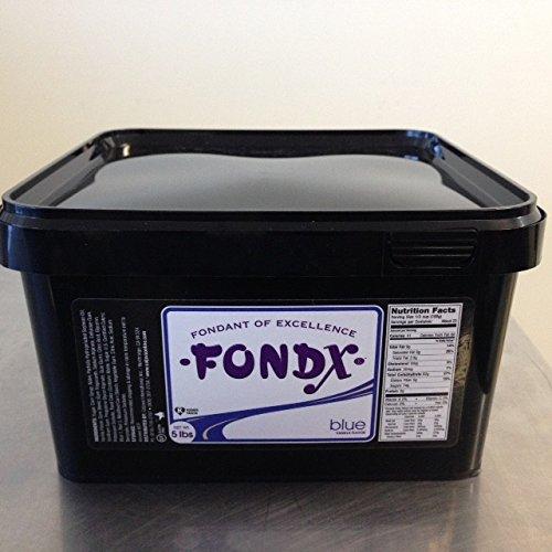 FondX Rolled Fondant Icing Blue 5 Pounds