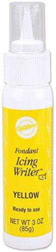 Wilton 710-2226 Fondant Icing Writer Yellow