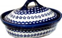 Polish-Pottery-Oval-Casserole-Dish-From-Zaklady-Ceramiczne-Boleslawiec-1156-166a-Floral-Peacock-Classic-Pattern18.jpg