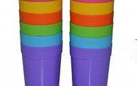 Bekith-12pc-Spectrum-13-ounce-Reusable-Break-resistant-Plastic-Cup-Tumblers-In-6-Assorted-Colors13.jpg