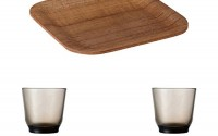 KINTO-6-3-inch-Nonslip-Square-Teak-Tray-and-Two-HIBI-220ml-Brown-Glass-Tumbler-Set-of-3-14.jpg