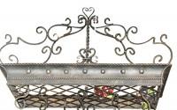 Posh-ITALIAN-SCROLLWORK-Iron-POT-RACK-Pan-Hanging-Ceiling-Luxe-Designer-Metal-13.jpg